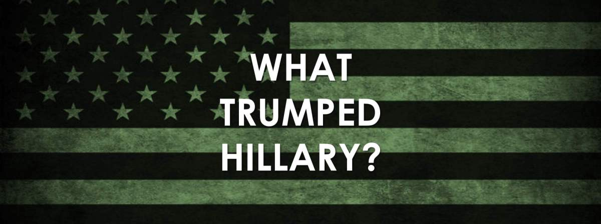 USA: What Trumped Hillary?